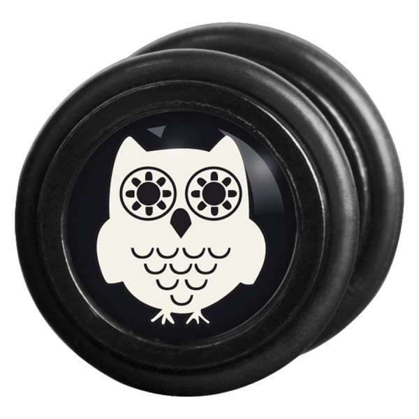 Steel Blackline® - White Owl