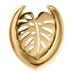 Ear Saddles Gold Monstera