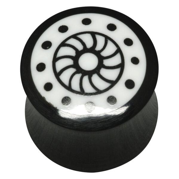 Horn and Bone Inlay Plug