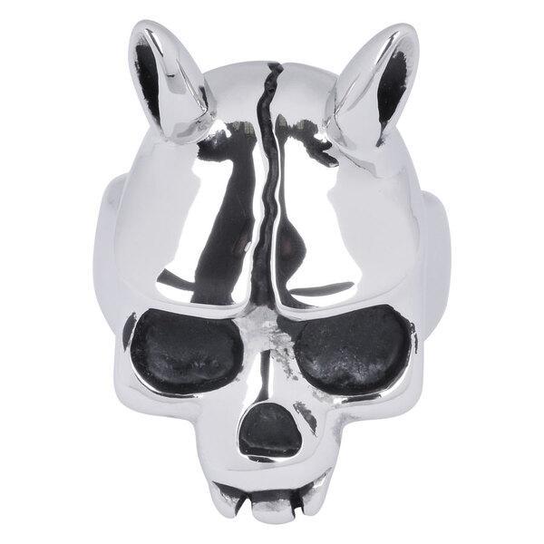 Steel Basicline® Skull Ring