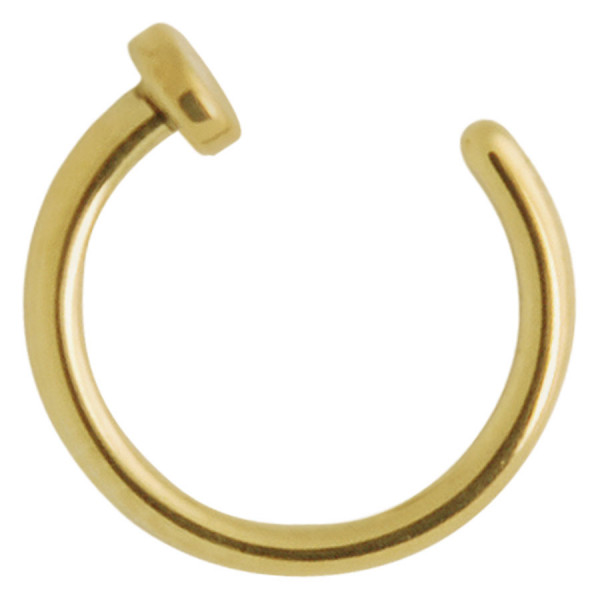 Titan Zirconline® Open Nose Ring