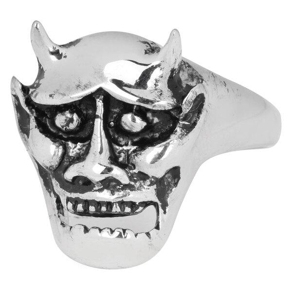 Stainless Steel Ring Devil