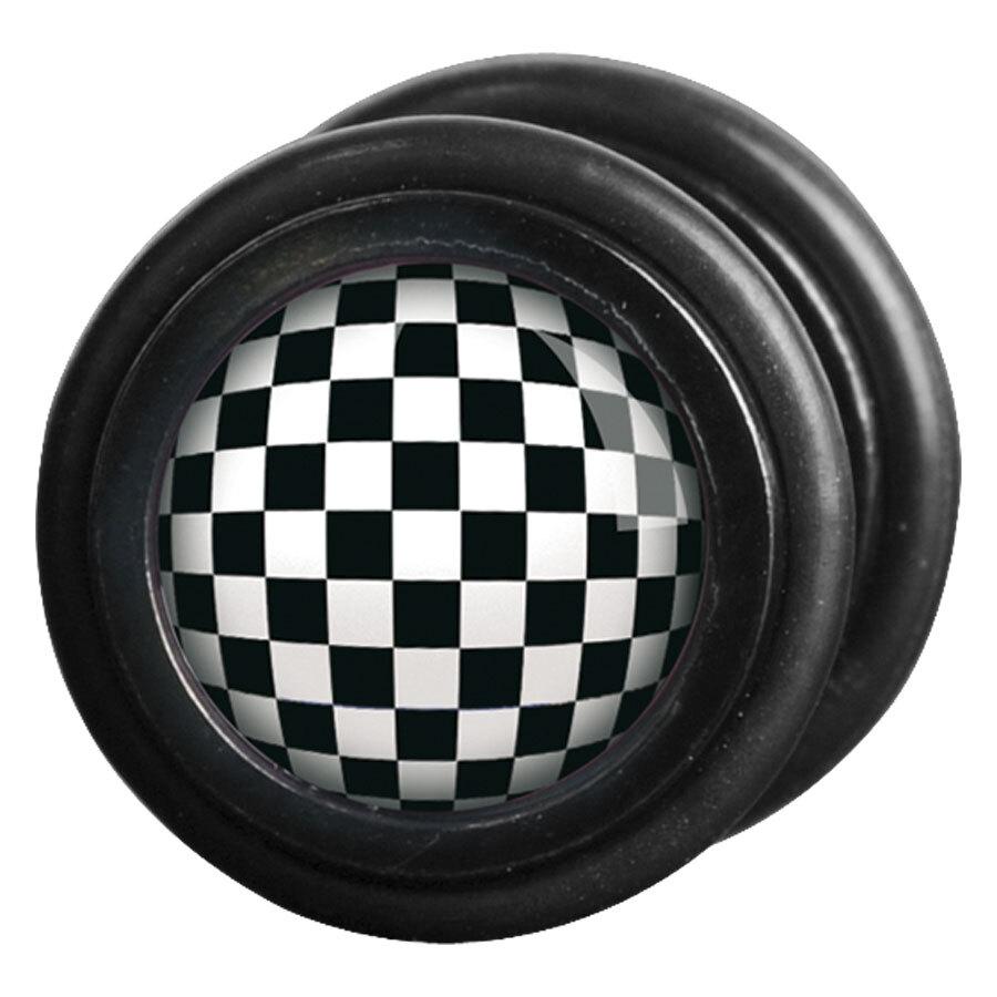 Steel Blackline® - Checkered Black & White
