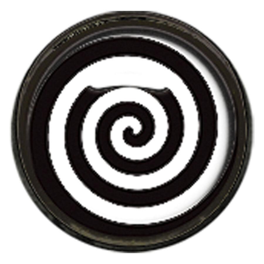 "Titan Blackline® Internally Threaded Ikon Disk ""Black White Spiral"""