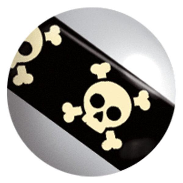 Image Stripy Titanball Skull