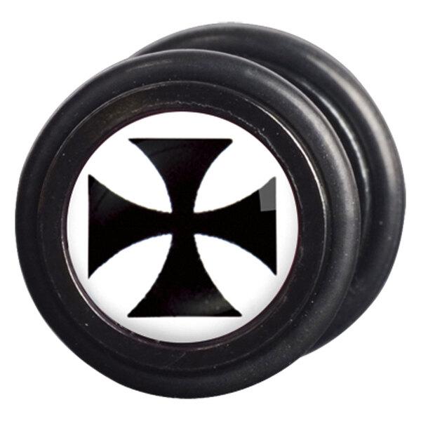 Steel Blackline® - Templar Cross black