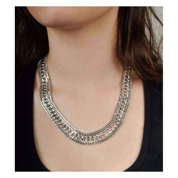 Wildcat® - Three Chains Necklace