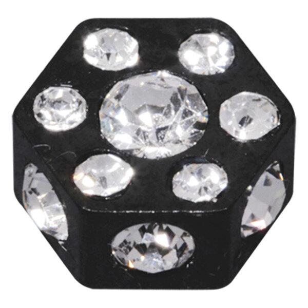 Steel Blackline® - Jewelled Hexagon Disc