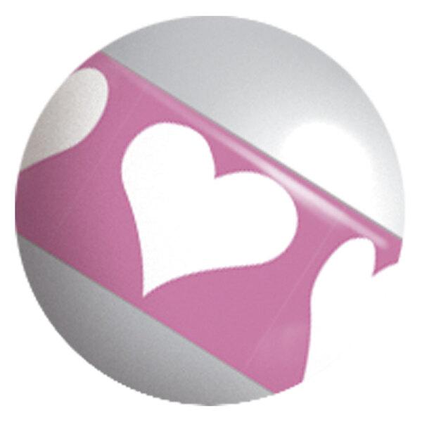 Image Stripy Titanball Heart
