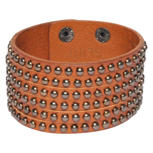 Wildcat® - Gun Leather Bracelet Cognac