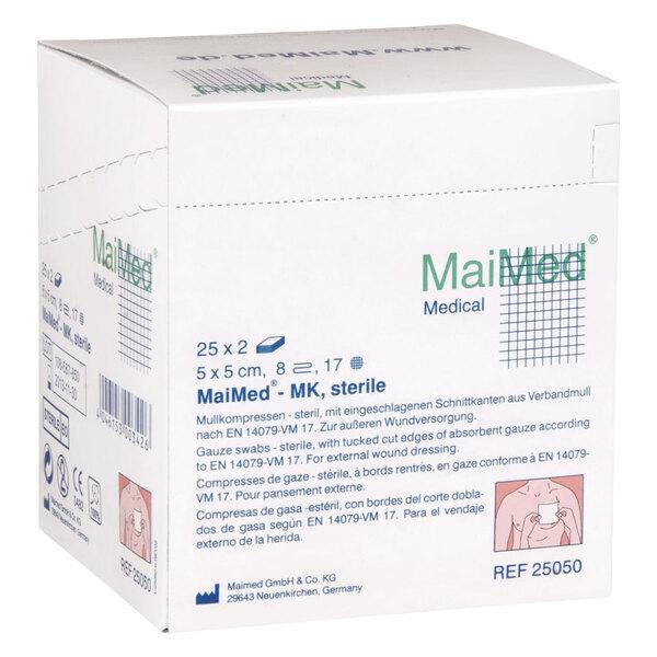 MaiMed - 5 x 5 cm, 8fach, sterile