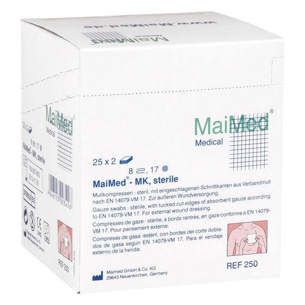 MaiMed - 10 x 10 cm, 8fach, sterile