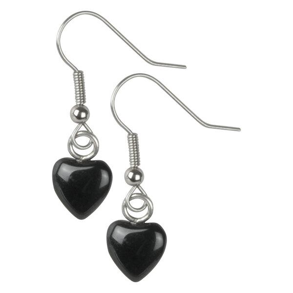 Wildkitten® - Black Heart Earrings