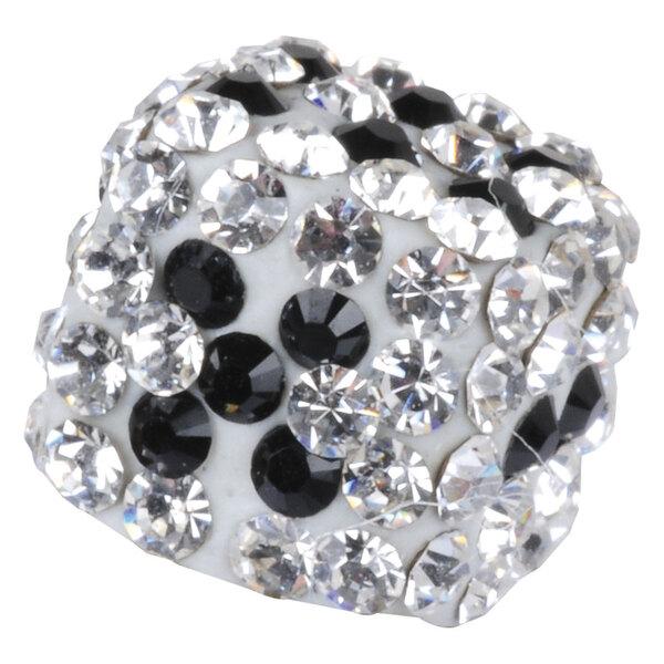 Steel Basicline® - Multi Jewelled Crystal Dice