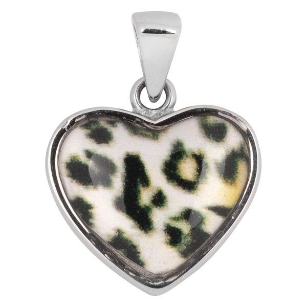 Steel Basicline® - Casting Snowleopard-Style Heart
