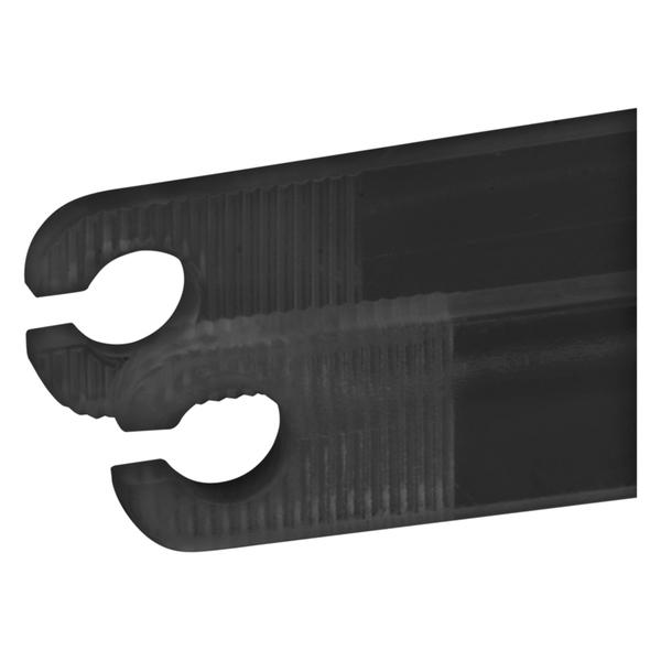 schwarze runde sterile Einweg-Pinzette V