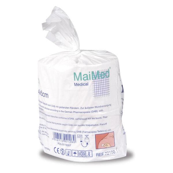 MaiMed - 4 x 5 cm, unsterile Zellstofftupfer