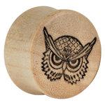 Earganic® - Angry Owl on Crocodile