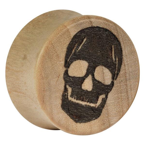 Earganic® - Old Skull on Crocodile