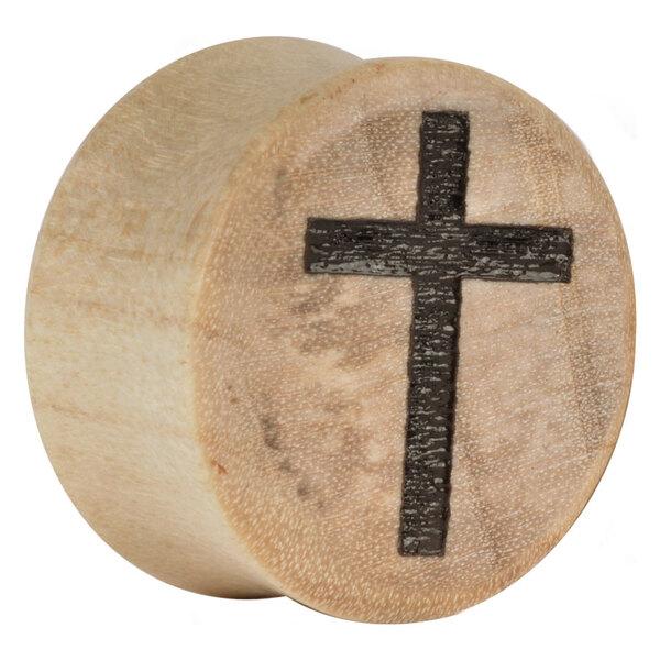 Earganic® Classic Cross on Crocodile with brown lines