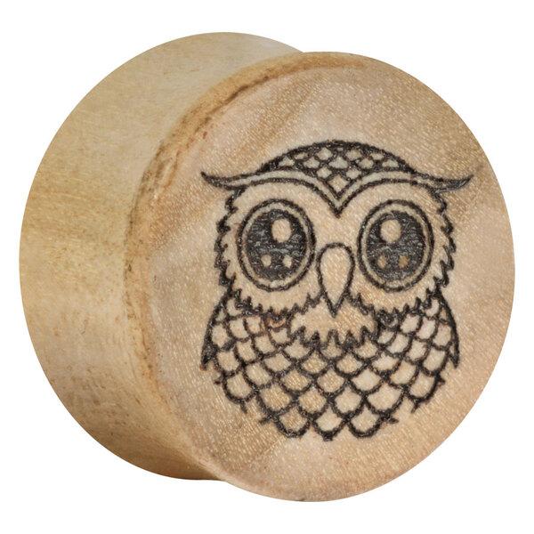 Earganic® - Cute Owl on Crocodile