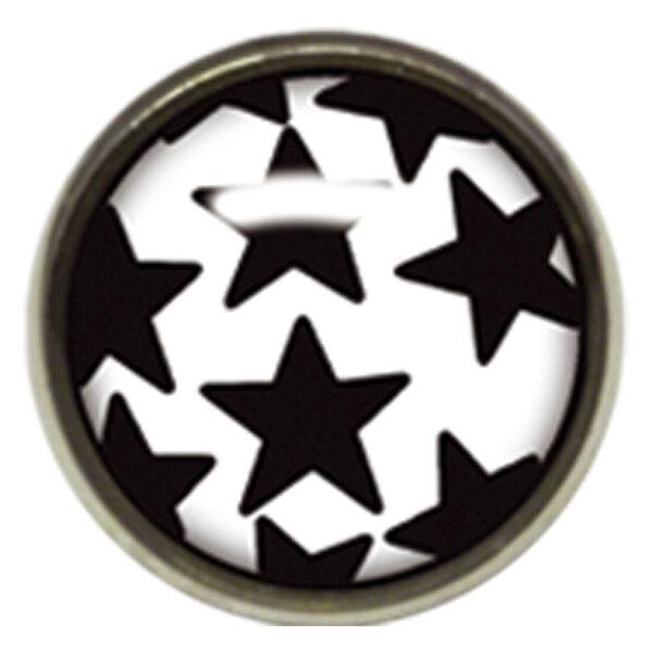 Titan Highline® Internally Threaded Ikon Disc Black Stars on White