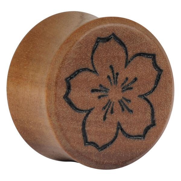Earganic® - Sakura one Flower on Olive