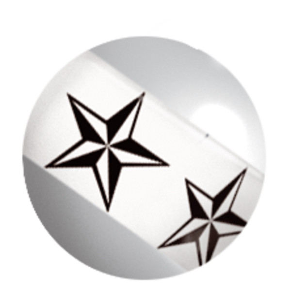 Image Stripy Nautical Star