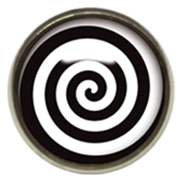 Titan Highline® Internally Threaded Ikon Disc Black/White Spiral