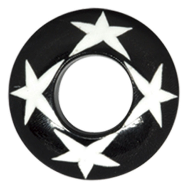Buffalo Horn Four White Stars Plug