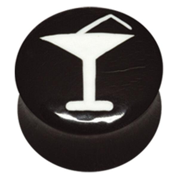 Buffalo Horn Cocktail Glass Plug
