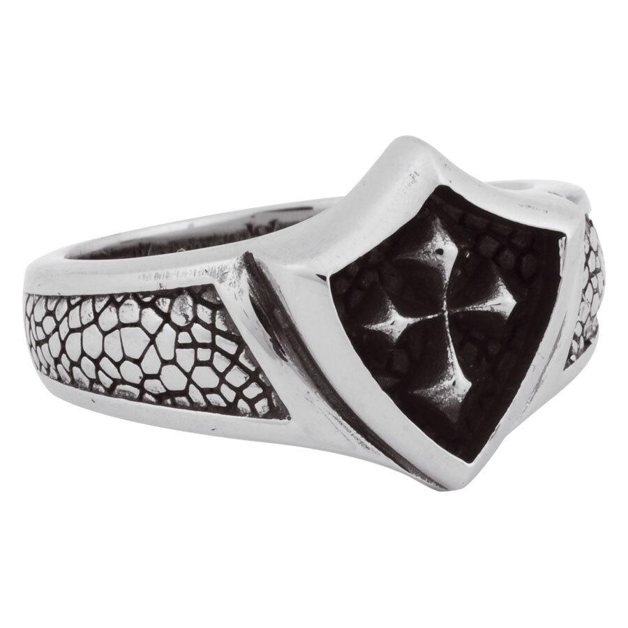 Steel Basicline® Kool Katana Shield Casting Ring Motiv 4
