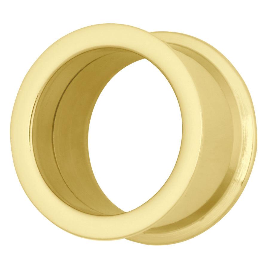 Titan Zirconline® Thin-Edge Internally Threaded Flesh Tunnel