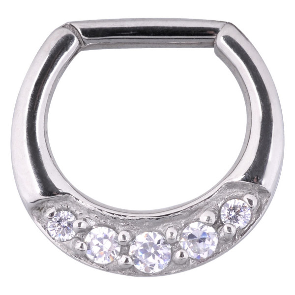 Jewelled Hinged Septum