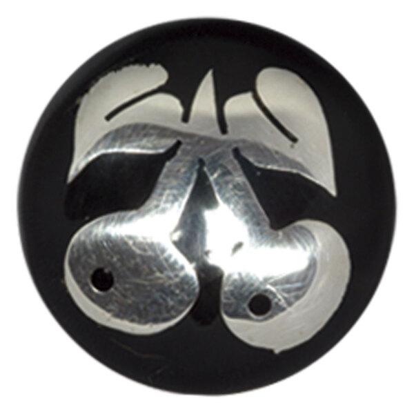 Buffalo Horn Silver Cherries Plug