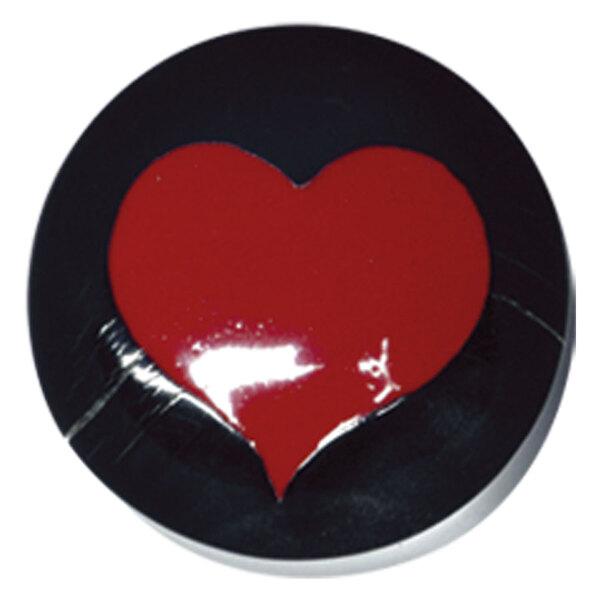 Buffalo Horn Red Heart Plug