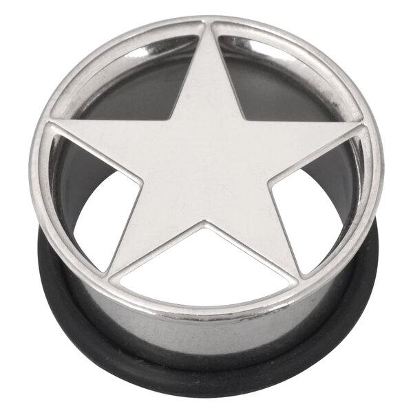 Steel Basicline® Lazer Cut Single Flared Eyelet Star