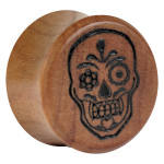Earganic® - Mexican Skull on Olive