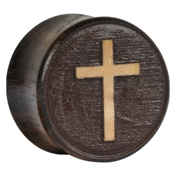 Earganic® Classic Cross on Sono 3D with brown background