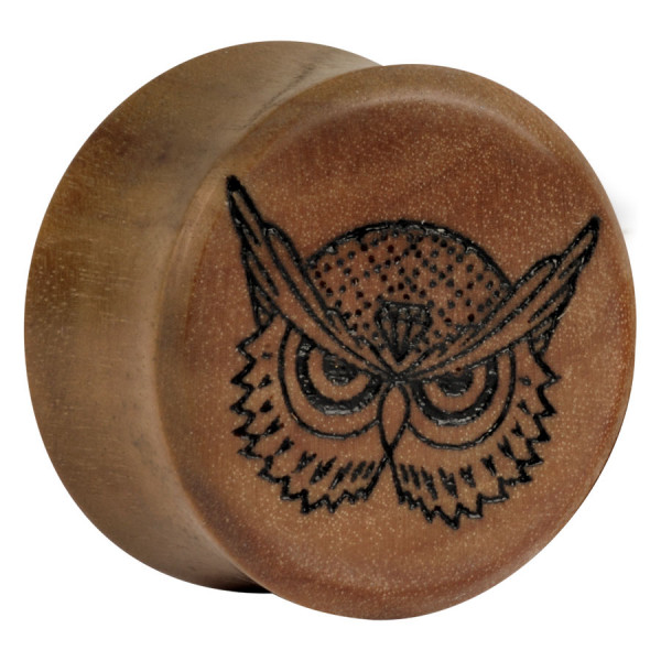 Earganic® - Angry Owl on Olive