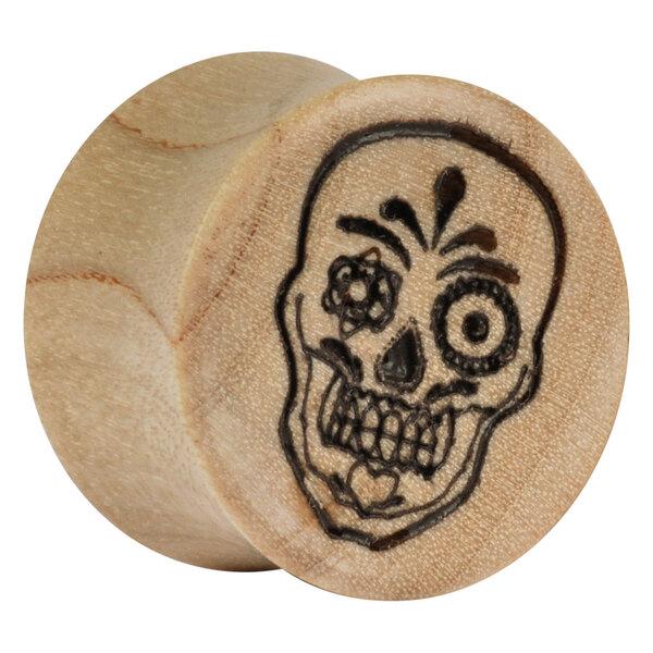 Earganic® - Mexican Skull on Crocodile
