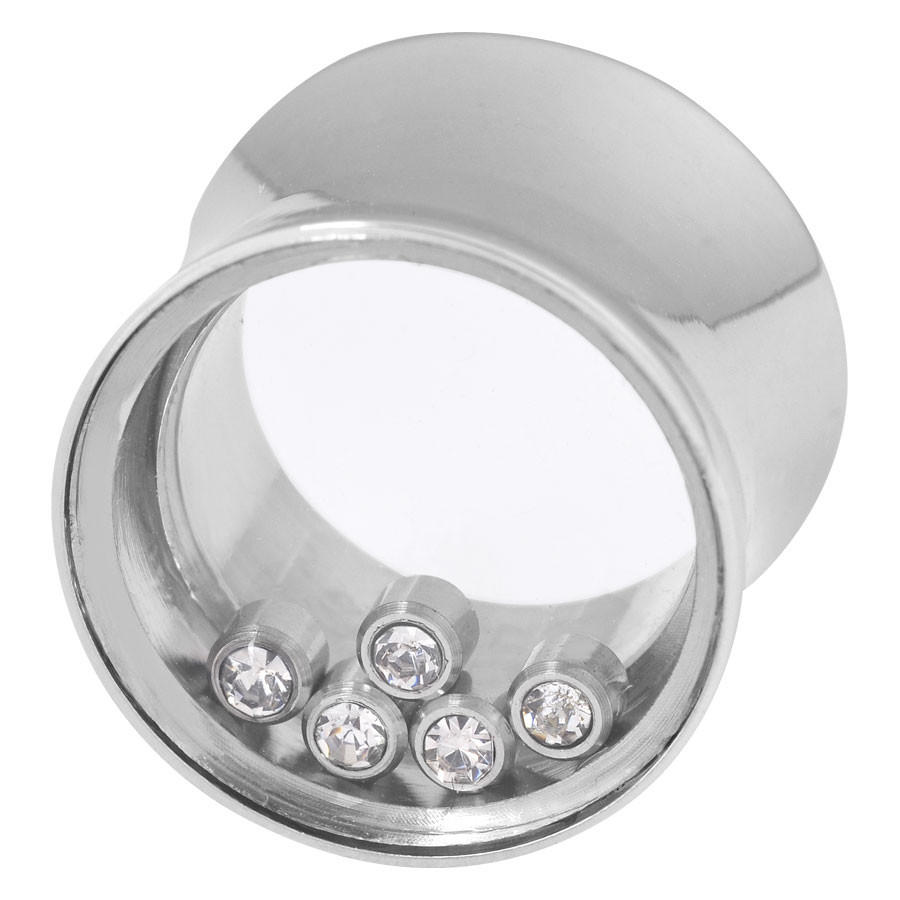 Steel Basicline® Captured Jewel Plug