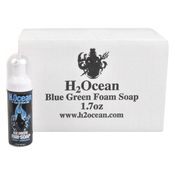 H2Ocean - Blue Green Foam Soap Box/24