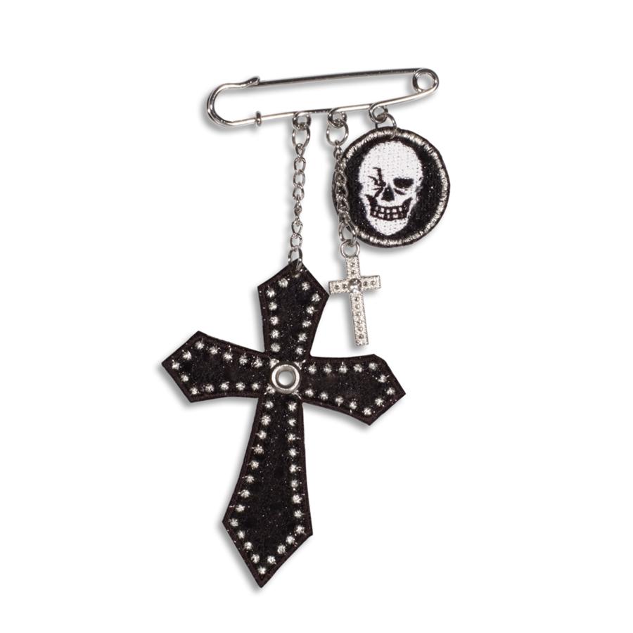 Crosses & Skull